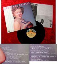 LP Marilyn Monroe Remember Marilyn Japan Pressung 1980