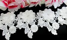 Amazing White color Venise Flower Lace Trim - price for 1 yard