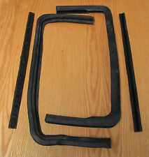 1955 1956 1957 CHEVY VENT WINDOW RUBBER GASKETS SEALS Sedan & S W
