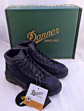 "DANNER Black Leather DL2 30104 5"" Hiker Work Boots Men's Sz 10 EE Retail $169"