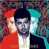 ROBIN THICKE - BLURRED LINES - CD ALBUM - FEATURING PHARRELL WILLIAMS