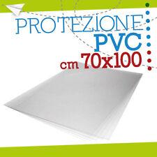 FOGLIO PVC TRASPARENTE 70x100 cm foglio pannello fogli plexiglass lastra 100044