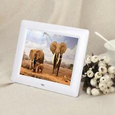 Heiß 7Zoll HD TFT-LCD Digital Foto Rahmen Mit Alarm Uhr Diashow MP3/4 Spieler