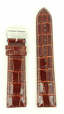 Seiko Kinetic SKA569P1 Brown Calf Leather Watch Strap L00F H 22 mm 5M62-0DB0