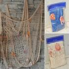 Home Decor Fishing Net Seaside Wall Beach Party Wall Ceiling Bar Bedroom Decor