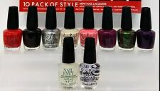 OPI Mini Lacquer - 10 PACK OF STYLE COCA-COLA 2014 -DDC08 Damaged Outter Box