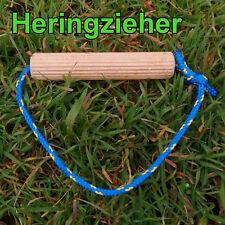 Heringzieher Heringauszieher Camping Hering Zeltpflock Zelt Erdnagel Tipi Jurte