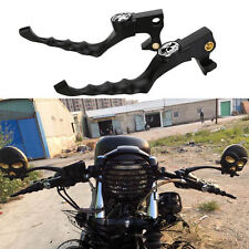Skull Hand Brake Clutch Lever For 2004-2014 Harley Sportster 1200/883XL/XR