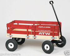 RADIO FLYER #29 WOOD ALL-TERRAIN CARGO WAGON RUBBER TIRES
