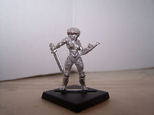 Warhammer Chaos Marauder Female Champion or Barbarian Hero: Sword & Punch Dagger