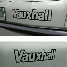 Vauxhall Chevette HS HSR Sticker Decal cut black vinyl letters Dealer Sport DTV