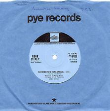 GENE PITNEY summertime dreaming*it ain't the same 1972 UK PYE INTERNATIONAL 45