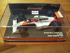 1/43 McLAREN MP4/5 HONDA V10 ALAIN PROST 1989 WORLD CHAMPION