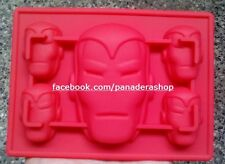 The Avengers Iron Man Bento Fondant Soap Chocolate Clay Silicone Molder Mold