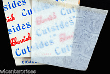 Cherniak Cutsides Rice Cigarette Rolling Papers - Lot Of 5 Packs