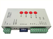 Centralina SPI Magic Color Led RGB Controller T1000S Con SD IC WS2801 WS2811 WS2