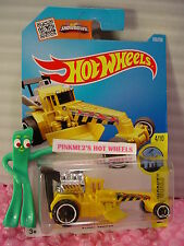 Case D/E 2016 i Hot Wheels STREET CLEAVER #169✰Yellow; or6✰HW City Works