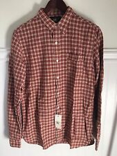 RRL Mens Long Sleeve Red Workshirt Small  $195 NWT ralph lauren polo