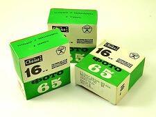 3 FILM SVEMA 16 mm B/W GOST50 DIN18 ASA50  10 m Old stock