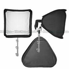 "PRO Portable 32""/80cm Softbox For SpeedLight Flash Hot Shoe Soft Box Kit 80x80cm"