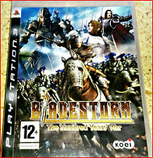 PS3 BLADESTORM - DER HUNDERJÄHRIGE KRIEG-THE HUNDRED YEARS WAR UNCUT-IN DEUTSCH
