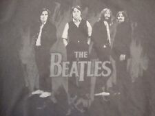 The Beatles Classic Rock Music Band Fan Throwback Concert Black T Shirt Size L