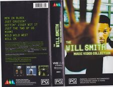 THE WILL SMITH MUSIC VIDEO COLLECTION A  RARE FIND VHS VIDEO PAL~