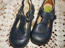 guc Stride rite navy leather Mary Jane shoes girl 11 W free ship USA