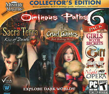 Ominous Paths 6 Game Pack PC Hidden Object by