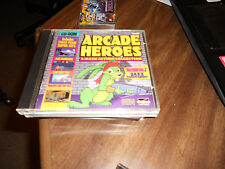Arcade Heroes 4 Pack Action Collection PC CD Computer game 1995 Jazz Jackrabbit