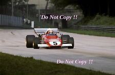 Clay Regazzoni Ferrari 312 B2 Italian Grand Prix 1972 Photograph 1