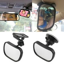 Universal Car Rear Seat View Mirror Baby Child Safety With Clip and Sucker F3