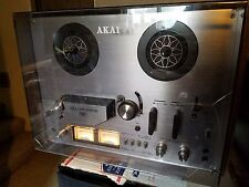 Akai GX-4000D Reel to Reel Tape Deck & Cover - Complete and Fully Functional