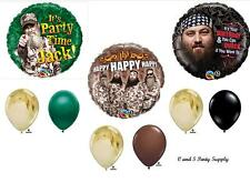 DUCK DYNASTY BIRTHDAY PARTY BALLOONS Decorations Supplies Hunting Camo Hunting