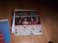 MITCH MILLER - CHRISTMAS SING ALONG WITH MITCH MILLER and the gang - NICE!!