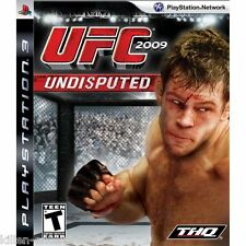 UFC Undisputed 2009 (Playstation 3) PS3