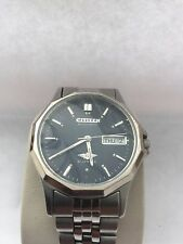 Citizen Men's Analogue Automatic 21 Jewels Day/ Date Blue Dial