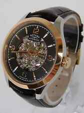 Rotary Men's GS03715/04 Rose Gold Automatic Skeleton Swiss Watch RRP £279 NEW
