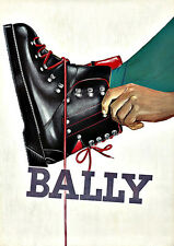 Art Ad Bally Hiking Boot    Deco Poster Print