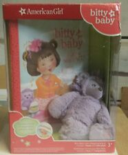 NIB American Girl Bitty Baby's Mini Hedgehog and Book by Kirby Larson 2014