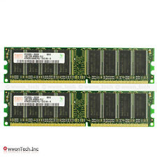 New Hynix 2GB (2x 1GB) PC3200 DDR-400Mhz Non-ECC Unbuffered Desktop Memory RAM