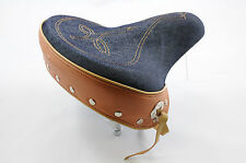 ELECTRA STREAM RIDE DENIM SADDLE STUDDED USA STYLE CRUISER BIKE SPRUNG £15 OFF