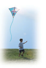 "Kite Jet Plane Diamond Single Line Kite 30"" With Winder & String PR 15445"