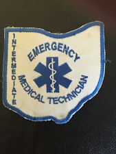 EMERGENCY MEDICAL TECHNICIAN PATCH  IRON ON OR SEW ON