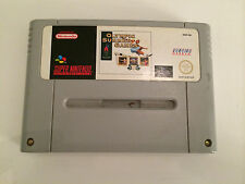 Super Nintendo SNES Spiel - Olympic Summer Games