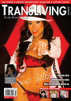 TRANSLIVING ISSUE 45 TRANSVESTITE CROSS DRESSER TRANSGENDER LIFESTYLE MAGAZINE