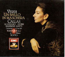 Verdi: Un Ballo In Maschera / Callas, Di Stefano, Gobbi, Votto - CD