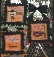 BIRDS OF A FEATHER HALLOWEEN ICONS CROSS STITCH  CHART