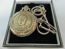 Franklin Mint John F Kennedy Pocket Watch