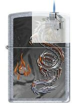 Zippo 3538 Dragon and Flame Lighter & Z-PLUS INSERT BUNDLE